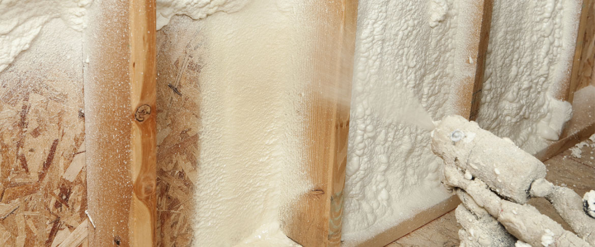 spray foam Dist of Columbia